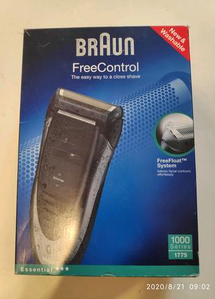 Бритва Браун  Braun 1775 free control  аккумуляторная ір65