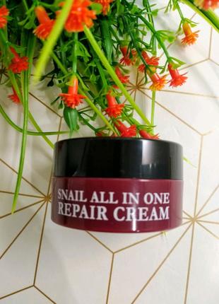 Крем с Улиткой Eyenlip Snail All In One Repair Cream, 15 ml