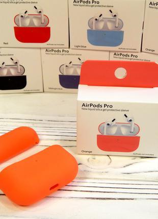 Чехол - Накладка Case Apple AirPods Pro Orange