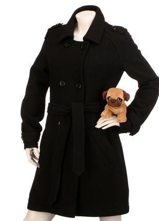 s.Oliver 100% шерсть классическое пальто шерстяное полупальто