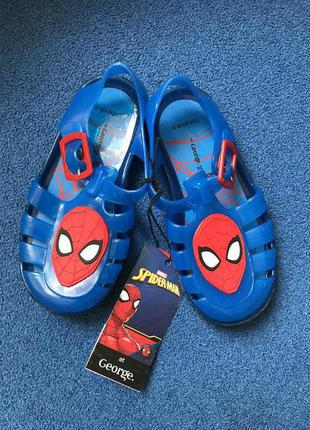 George новые сандали с человеком-пауком 24 р. по стельке 16 см
