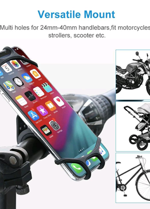 Велосипедный/универсальный держатель мобильного телефона Raxfly