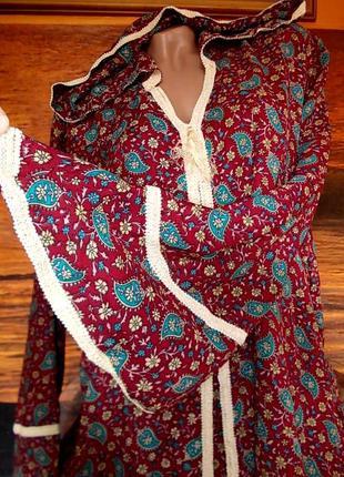 Домашнее платье джалабия 52-54 размера индия