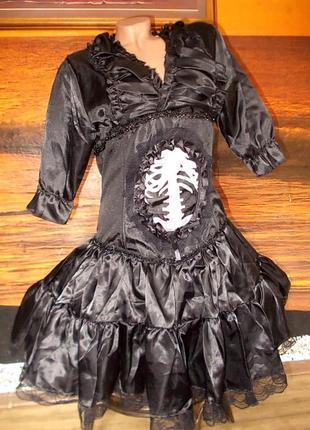 Платье vampirin mirella на хеллоуин размер евро 40/42+подарок