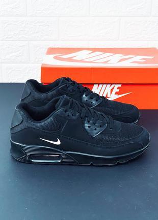Nike air max 90 black-white кроссовки найк аир макс 720 270 97 95