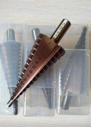 Сверло ступенчатое кобальтовое M35 HSS-CO (4-32)