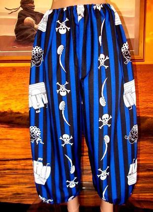 Штаны маскарадные для пирата 54 размера