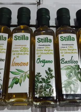 Оливковое масло с натуральными добавками 250 мл в ассортименте Ит
