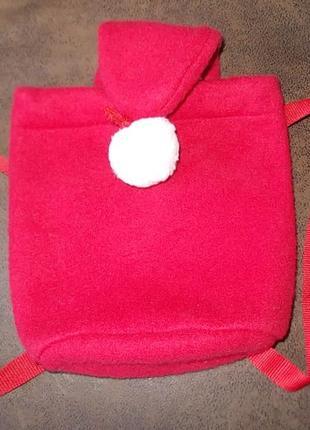 Детский флисовый рюкзачок