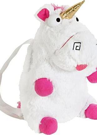 Игрушка-рюкзак плюшевый единорог флаффи fluffy 1-5 лет