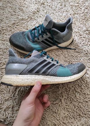 Adidas ultra boost St grey green 45.5