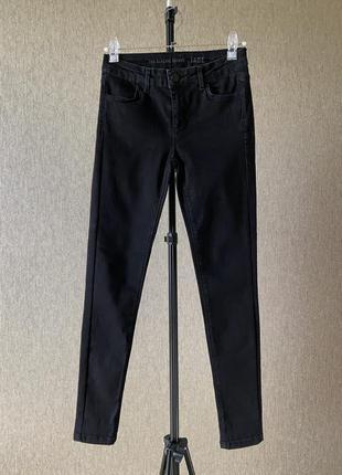 Oasis jade skinny washed джинсы скинни черные средняя посадка