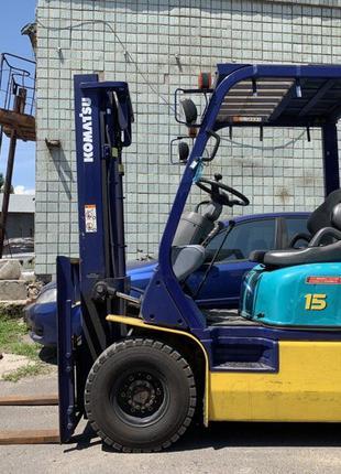 Вилочный автопогрузчик/автонавантажувач Komatsu на 1.5 тонны