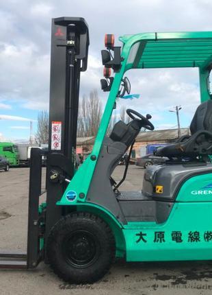 Вилочный погрузчик навантажувач Mitsubishi в состоянии нового!