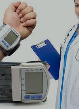 Тонометр електронний автоматичний, для вимірювання тиску і пульсу
