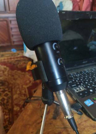 Конденсаторный звукозаписывающий микрофон USB GBTIGER BM - 100FX