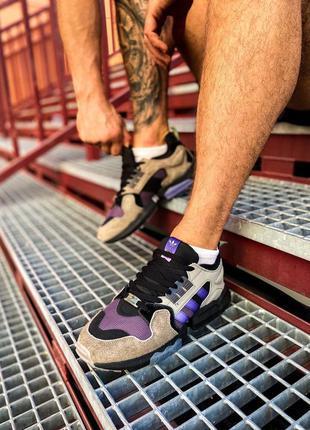 "Мужские кроссовки 🔸adidas zx torsion "" packer shoes mega violet""🔸"