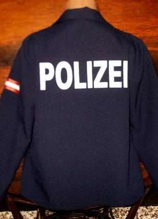 Маскарадная рубашка для костюма полицейского ростом 128см