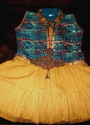 Маскарадное платье 26 размера индия