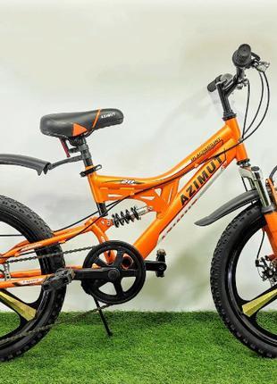 Велосипед детский Azimut Blackmount 20 D Premium