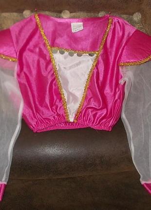 Блуза для восточного маскарадного костюма на 7-10 лет