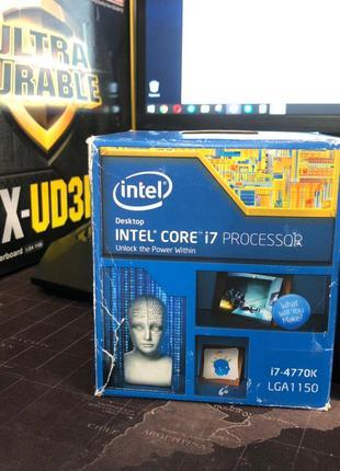 Intel Core I7 4770K сокет 1150 с игрового ПК