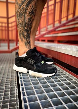 Кроссовки adidas zx torsion core black / white купить адидас ч...