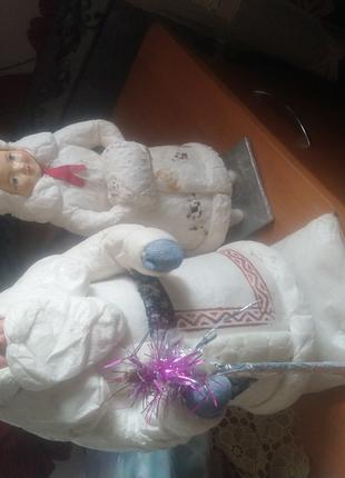 Дед мороз и Снегурочка времен советского союза