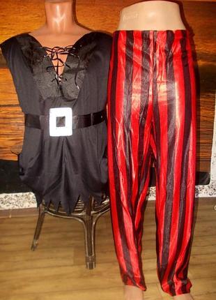 Маскарадный костюм пирата размер xl
