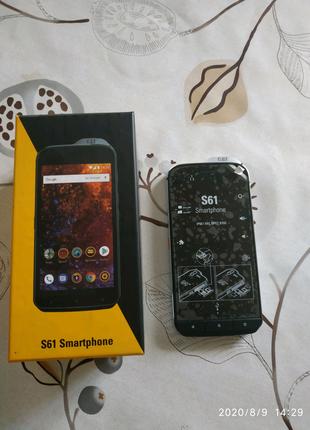 Caterpillar S61, телефон с тепловизором