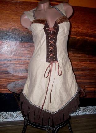 Платье индианка или ксена 44 размер