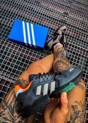 """Хит сезона ! кроссовки  adidas zx torsion cool """" grey/orange"""" ..."""