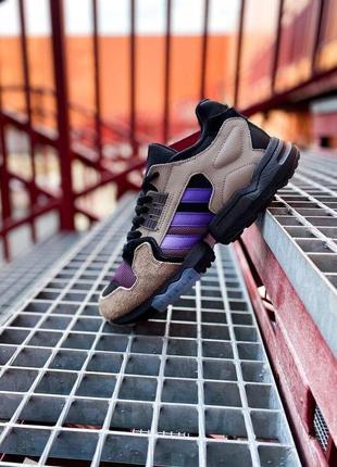 "Крутые кроссовки adidas zx torsion "" packer shoes mega violet""..."