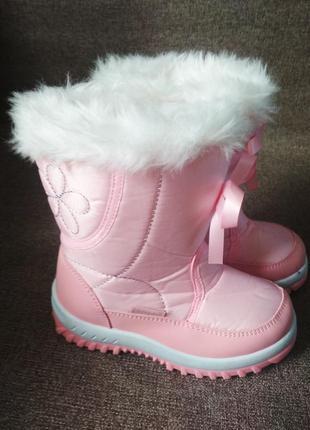 Зимние сапожки для девочки, нюансы!!!