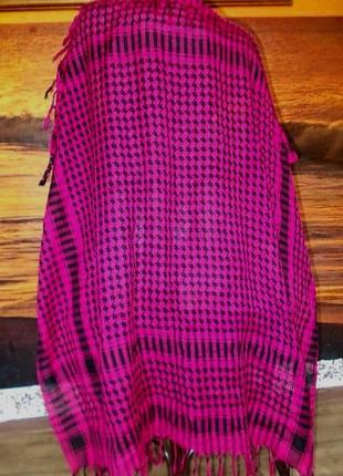 Большой платок палантин арафатка 105х105см