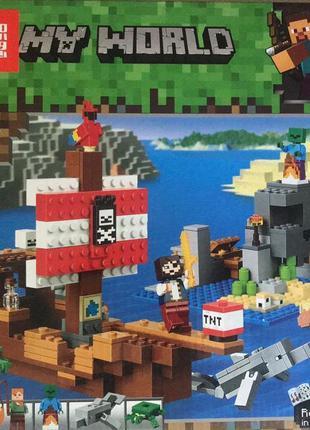 Конструктор 11170 Майнкрафт Приключения на пиратском корабле
