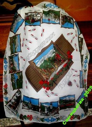Коллекционный итальянский платок 70х70см