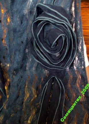 Красивый шарф 190х27см