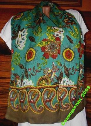 Стильный шарф 140х27см индия