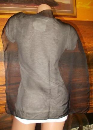 Маленький черный платок 53х53см