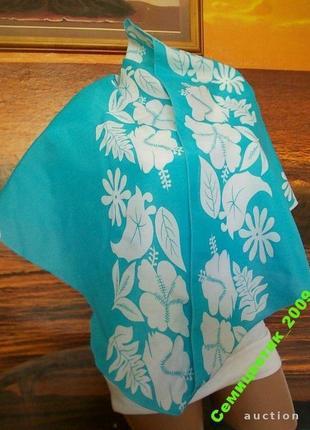 Красивая косынка-шаль