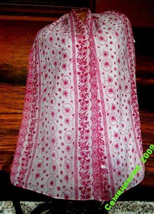 Шарф 170х35см натуральный шарф