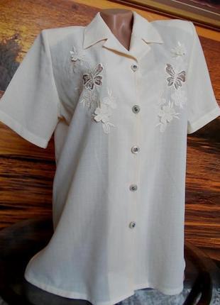 Очень красивая блузка clothes contact 46р
