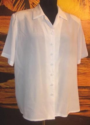 Элегантная блузка berkertex 54р.англия
