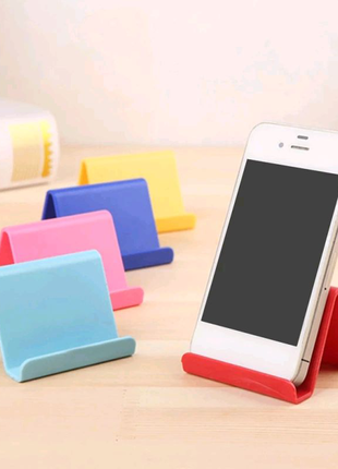 Настольный держатель подставка на мобильный телефон, планшет