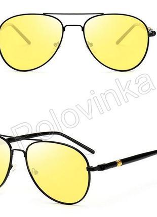 Очки ночного видения капельки желтые (longkeeper5)