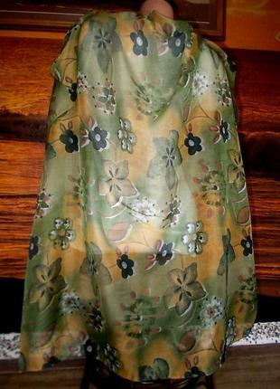 Распродажа! красивый платок 85х85см - мягкая приятная ткань