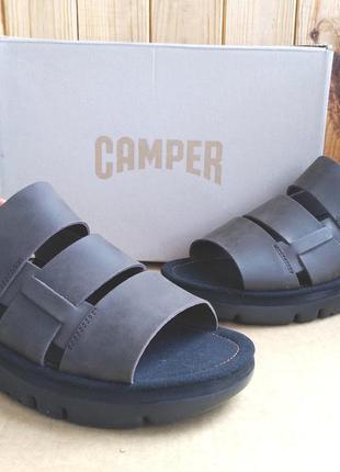 Шикарные, удобные стильные кожаные сандалии босоножки camper о...