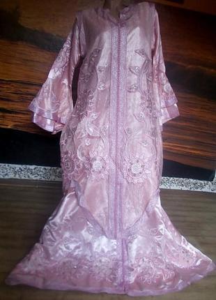 Двойное восточное платье 50-52 размер