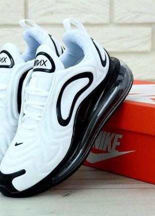 Кроссовки nike air max 720 white/black